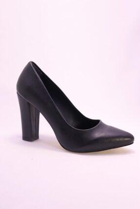 Eldora Shoes Kadın Siyah Topuklu Ayakkabı