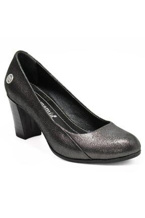 Mammamia Kadın Metalik Topuklu Ayakkabı