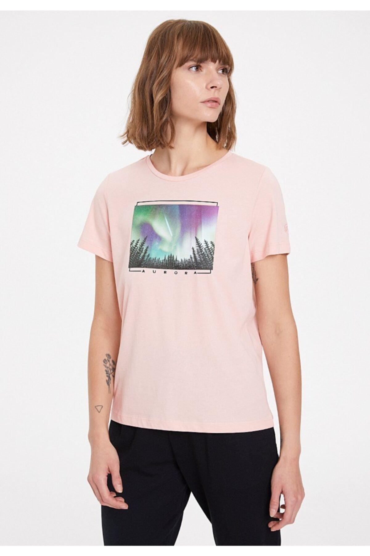 WESTMARK LONDON Kadın Somon T-Shirt 1