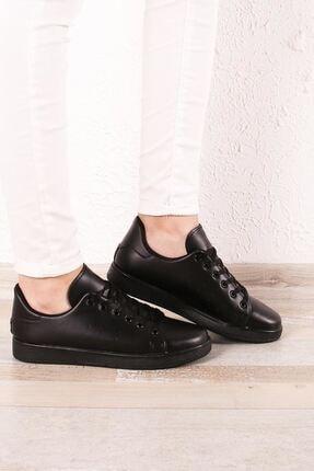 Zafoni Kadın Siyah Spor Ayakkabı