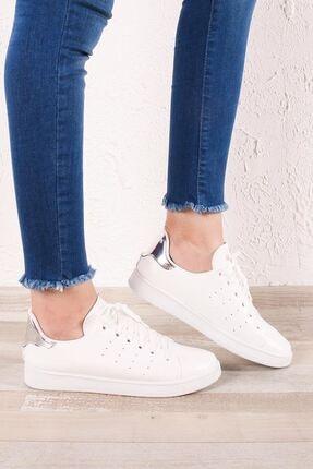 Zafoni Kadın Beyaz Spor Ayakkabı