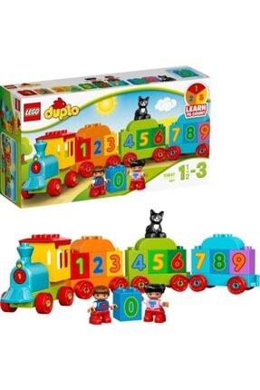 LEGO Orıjınal ® Duplo 10847 Sayı Treni Okul Öncesi Çocuk Için Öğretici Oyuncak Yapım Seti