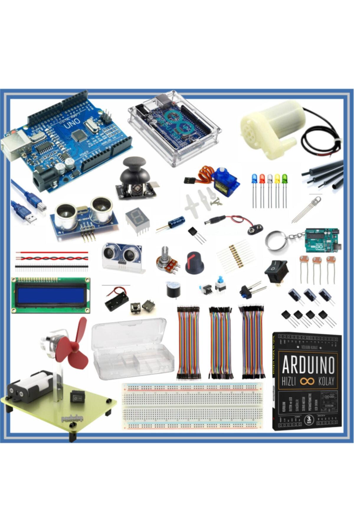 Arduino Uno R3 ( Ch340g ) Ekonomik Set 67 Parça 235 Adet 1