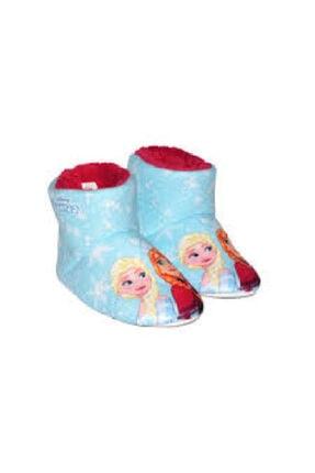 Gigi Frozen Elsa Çocuk Ev Botu Ev Ayakkabı Panduf
