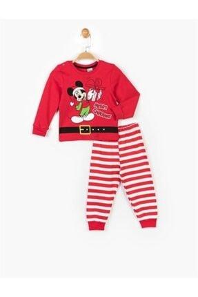 DISNEY Micey Mouse Yılbaşı Kostüm Pijama Seti