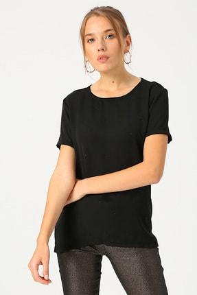 Fabrika Kadın Siyah Bluz 503760163
