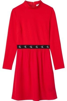 Calvin Klein Kadın Kırmızı Elbise