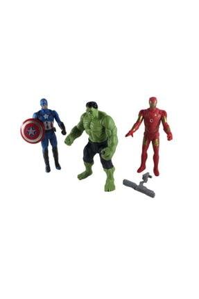 Sanalmarketi Kutuda Avengers Kaptan Amerika Hulk Iron-man Demir Adam Işıklı