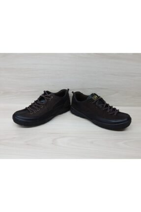 Jump Erkek Kahverengi Siyah Deri Ayakkabı