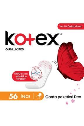 Kotex Lightdays Parfümlü Ince Günlük Ped 56'lı