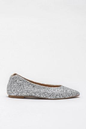 Elle Shoes ROUSEY-1 Gümüş Kadın Ayakkabı