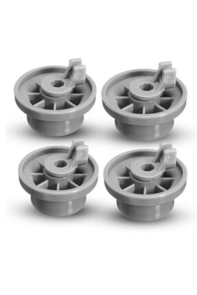 Bosch Siemens Profilo Uyumlu Bulaşık Makinesi Alt Sepet Tekerleği - 4lü Alt Sepet Tekeri