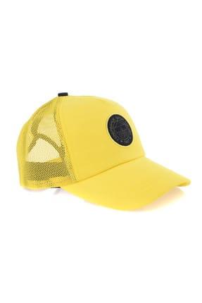 Fenerbahçe Sarı Meş Logo Şapka-A-500-0-56