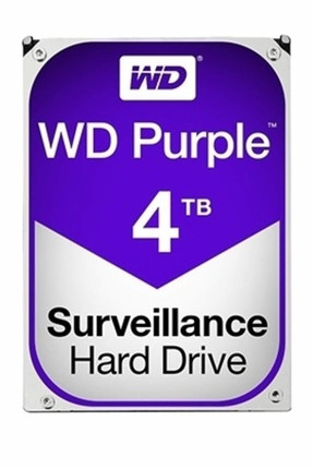 WD Purple 3.5 4TB 64Mb Sata 3 6Gb/s 7/24 WD40PURZ