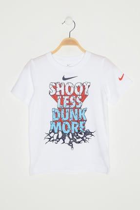 Nike Kids Beyaz Unisex Çocuk T-Shirt