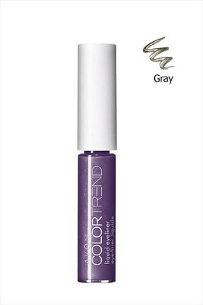 AVON Likit Gri Eyeliner - Color Trend Liquid Eyeliner Gray 8681298934066