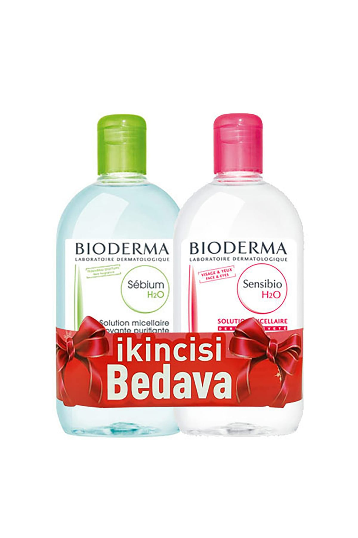 Bioderma Sebium H2O 500 ml + Sensibio H2O 500 ml sebium-sensibioh2o 1