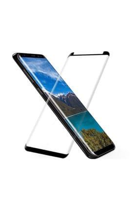 S-LINK Samsung Galaxy S8 Plus 3D Darbeye Dayanıklı Cam Ekran Koruyucu Şeffaf