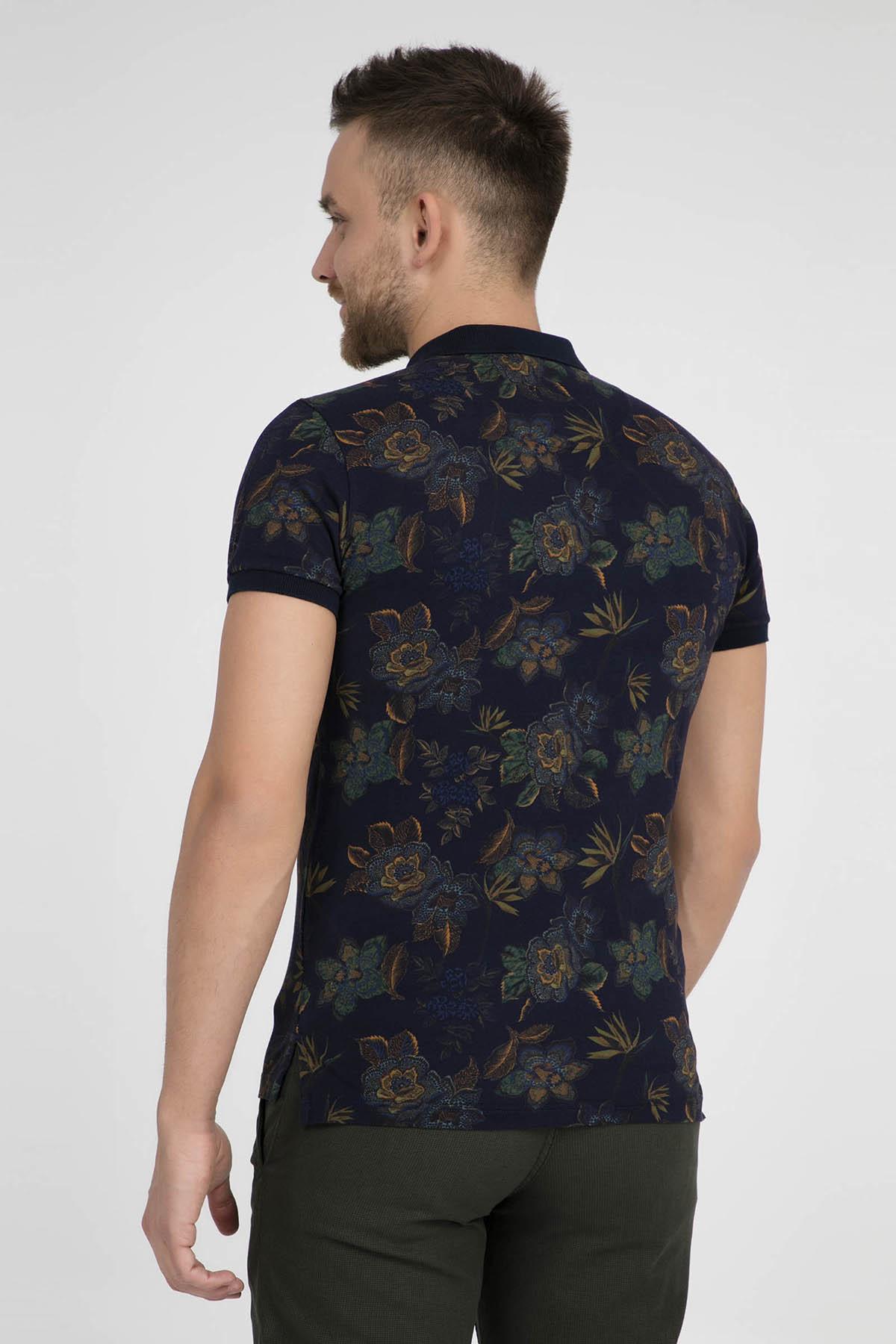 ETRO Erkek Lacivert T-Shirt 1Y040 4070 202 2