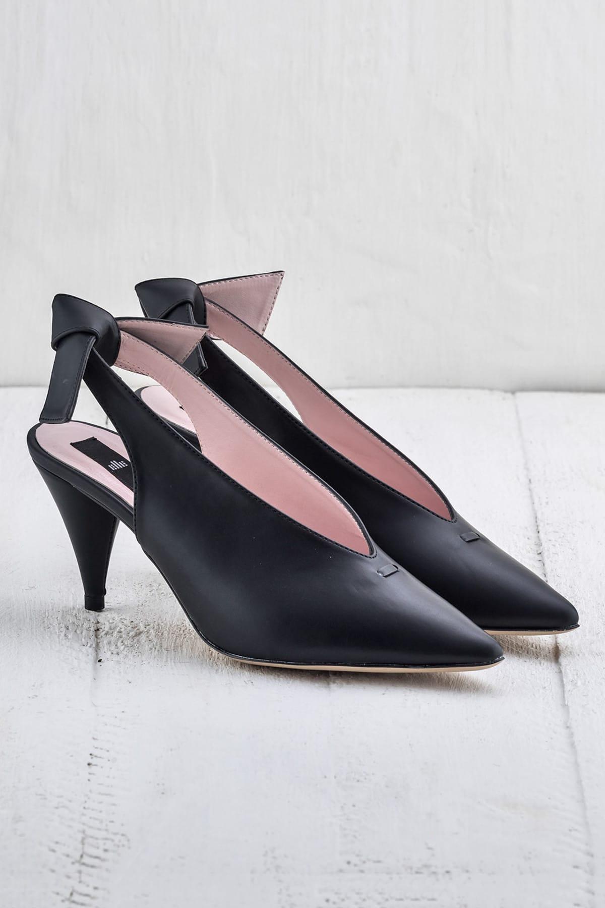 Elle Shoes NELIDAA Siyah Kadın Ayakkabı 2