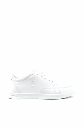 LETOON Beyaz Beyaz Unisex Spor Ayakkabı - 001G 6157