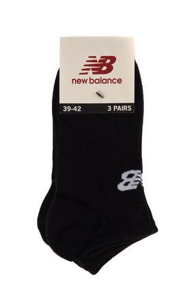 New Balance Unisex Çorap - Sneaker Socks - TRSK801-BK