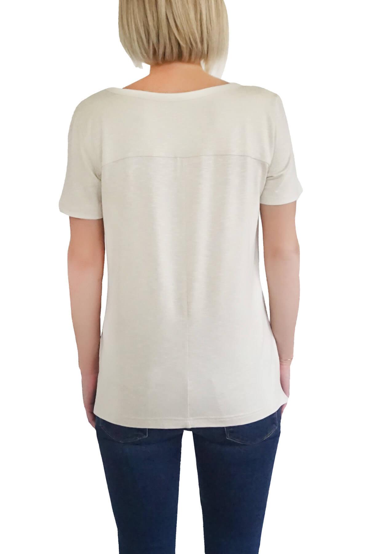MOF Kadın Taş T-Shirt SYCT-T 2