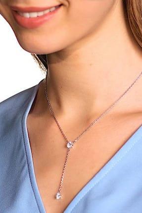 Swarovski Kadın Kolye Attract:Necklace Y Czwh/Rhs 5367969