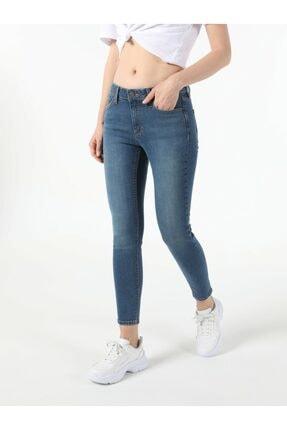 Colin's Kadın Mavi Dar Paça Pantolon