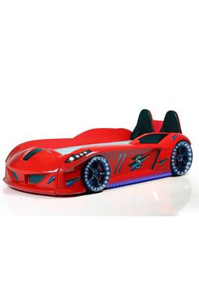 Setay Jaguar Arabalı Yatak Koltuklu Full Ledli Kırmızı