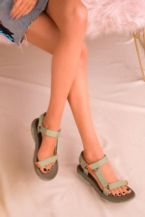 SOHO Yeşil Kadın Sandalet 16196