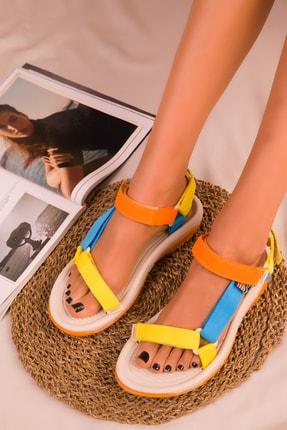 SOHO Ten-Renkli Kadın Sandalet 16196