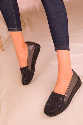 SOHO Platin Kadın Casual Ayakkabı 16202