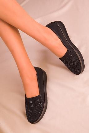 SOHO Siyah Kadın Casual Ayakkabı 16202