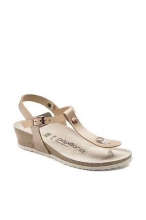 Birkenstock Krem Kadın Sandalet BST008936G01ROS