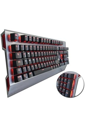 Everest Rampage Tinker Siyah Usb Aydınlatmalı Gaming Pro Q Multimedia Mekanik Klavye