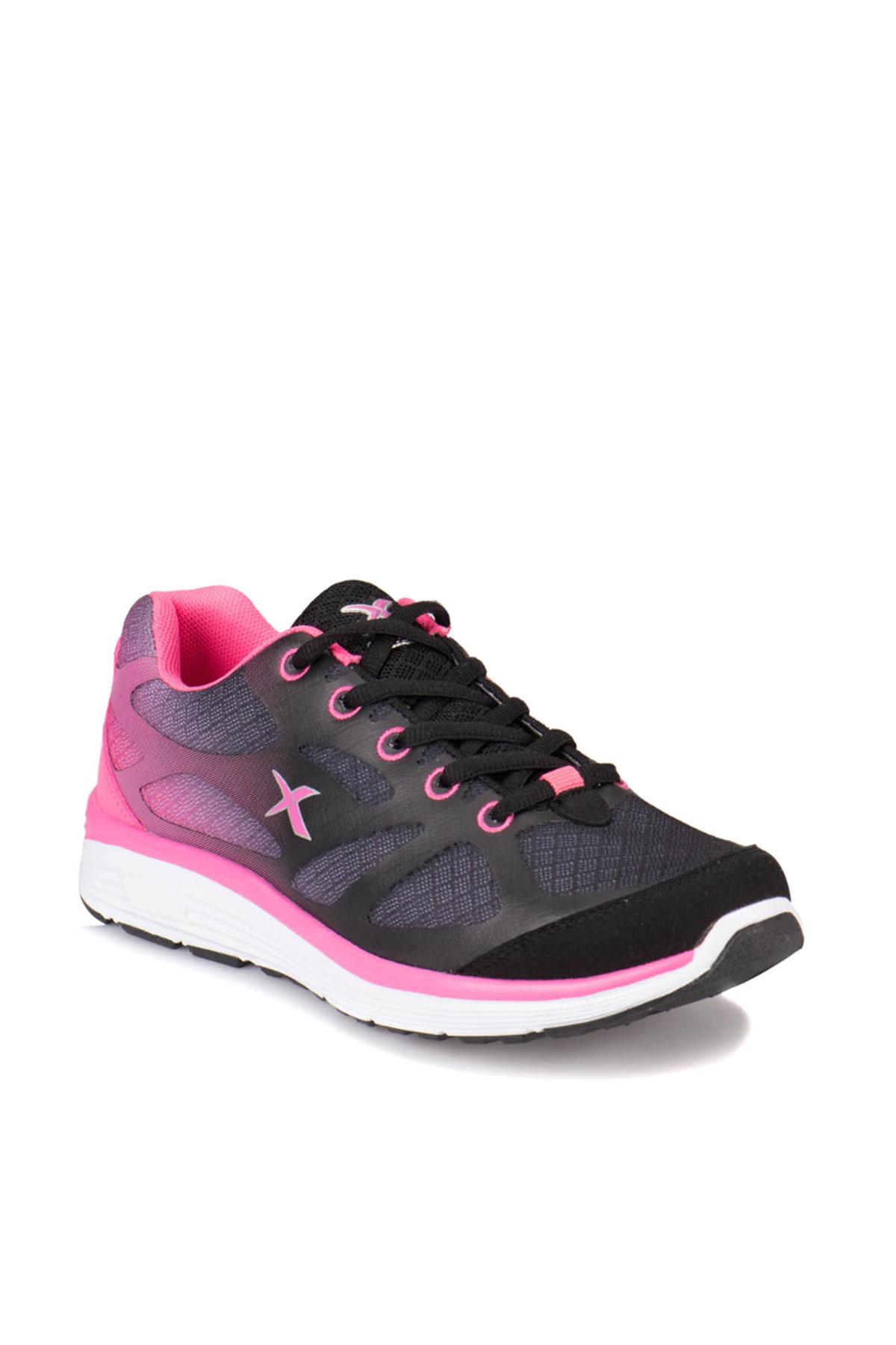 Kinetix A1315671 Fuşya Siyah Kadın Koşu Ayakkabısı 100223305 1