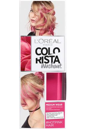 L'Oreal Paris Geçici Saç Boyası - Colorista Wash Out 15 #HotPinkHair 3600523566181