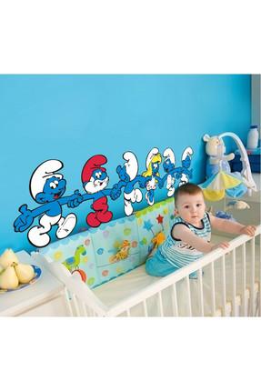 Tilki Dünyası Sevimli Şirinler Bebek ve Çocuk Odası Duvar Sticker