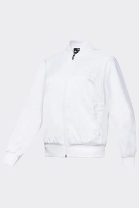 adidas BOMBER JACKET W Beyaz Kadın Ceket 101117832