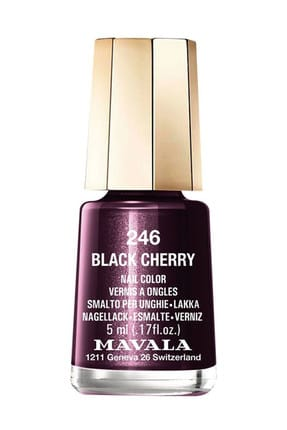 Mavala Mini Oje No :246 Black Cherry 7618900912465