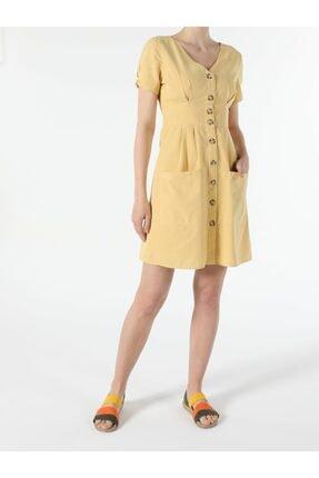 Colin's KADIN Sarı Kadın Elbise CL1049006
