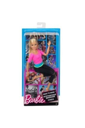 Mattel Games Mattel Barbie Sonsuz Hareket Oyuncak Bebek Bebeği Made To Move Dhl82