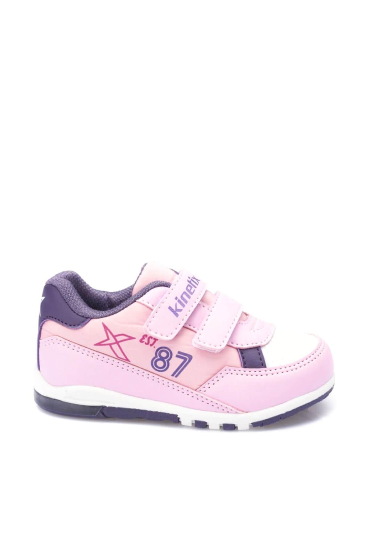 Kinetix Melsi Açık Pembe Mor Kız Çocuk Sneaker Ayakkabı 100325659 2