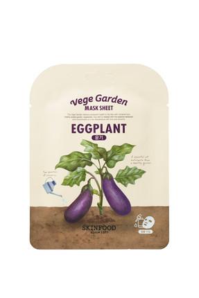 Skinfood Kağıt Maske - Vege Garden Eggplant Mask Sheet 20 ml 8809511279330
