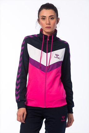 HUMMEL Kadın Sweatshirt Pearl Zip Jacket Ss16