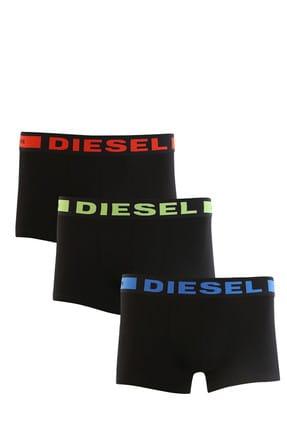 Diesel Erkek Siyah 3'lü Boxer 00Cky3-0Baof-01