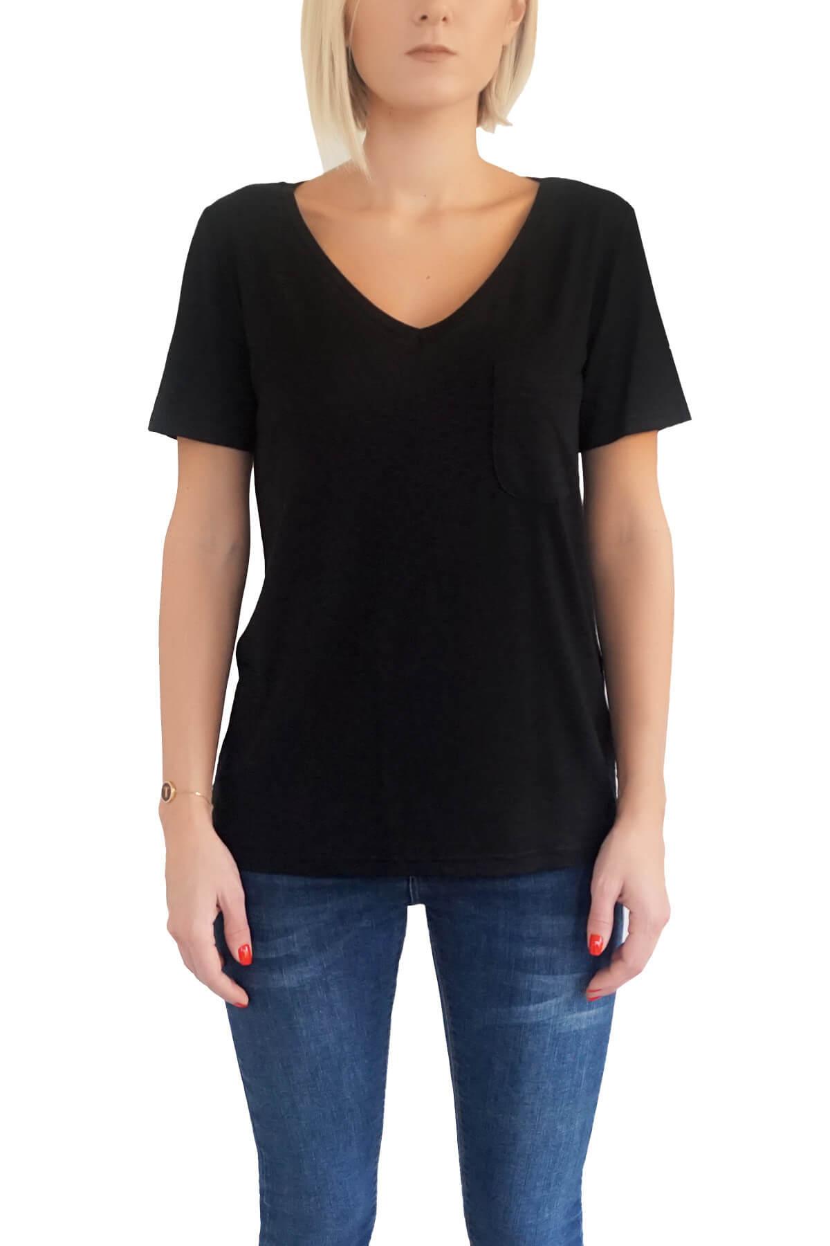MOF Kadın Siyah T-Shirt VYCT-S 1
