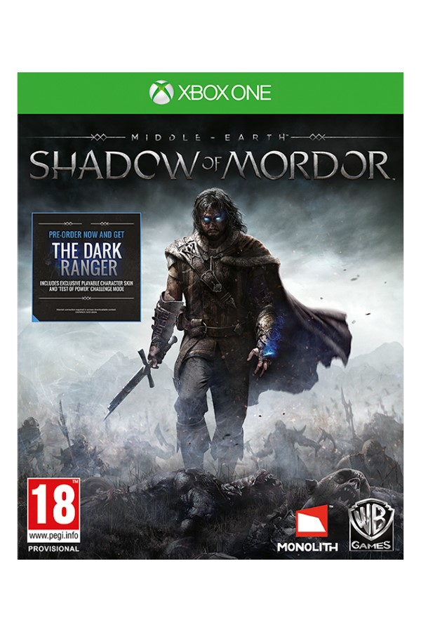 Warner Bros XBOX One Middle Earth Shadow Of Mordor 1