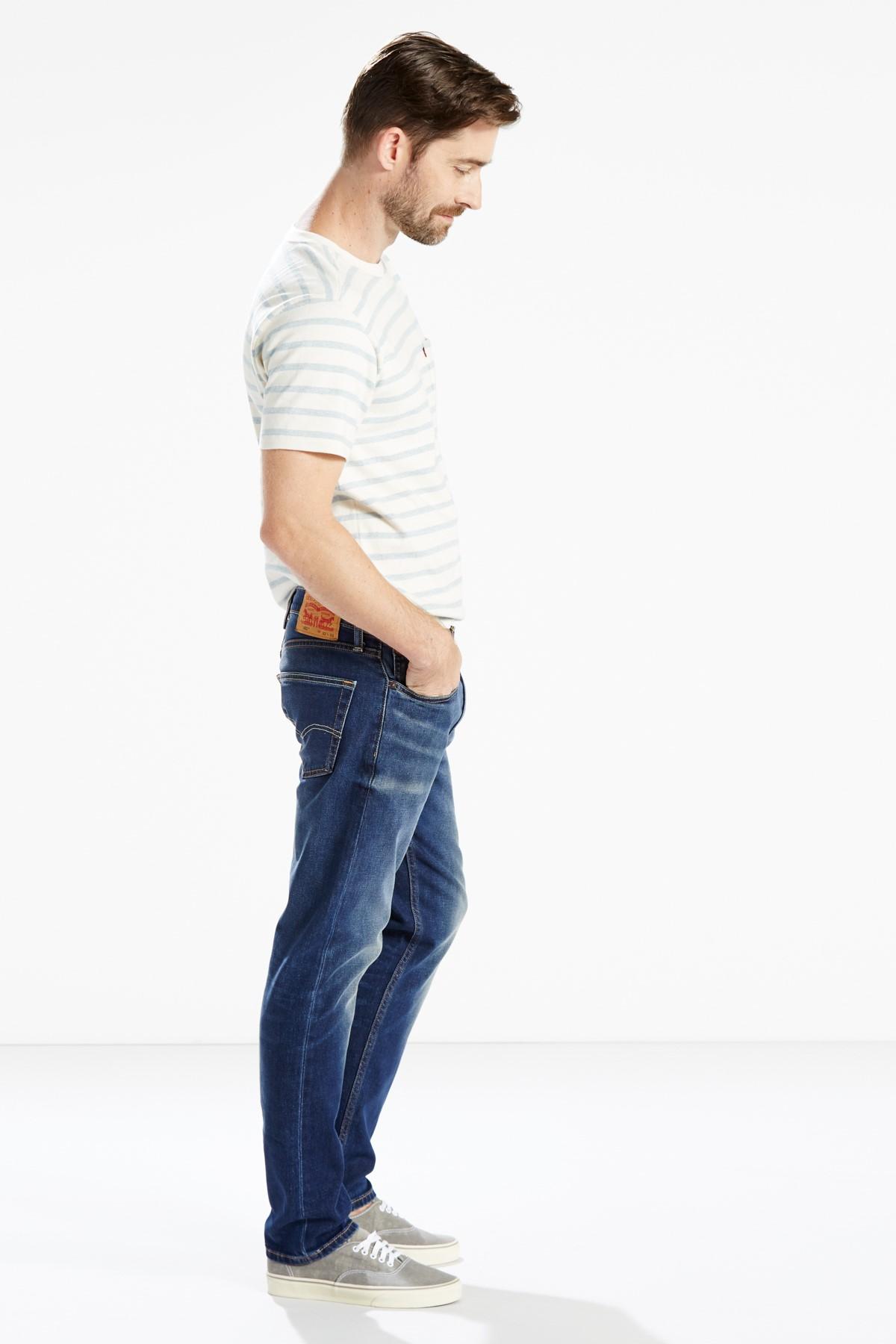 Levi's Erkek Lacivert 502 Straight Jean 29507-0021 2